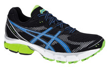 Asics Men's Gel Pulse 4 black/marin blue/neon yellow
